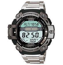 Casio Watch * SGW300HD-1AV Twin Sensor  Silver Steel Ivanandsophia COD PayPal