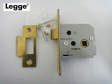 "LEGGE 13701.64 SERIES 7 ORBIS LATCH 64mm (2.5"") HEAVY DUTY BRASS FINISH - NEW"