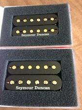 SEYMOUR DUNCAN SH-4 JB SH-2N JAZZ Hot Rodded Humbucker Pickup Black Gold Poles