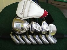Ladies TaylorMade Adams Idea Irons Driver Woods Complete Golf Club Set Womens RH