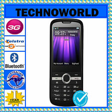 UNLOCKED TELSTRA ZTE T96 BLACK+NEXT G+3G+BLUE TICK+ANTENNA/RF PORT+FM+BLUETOOTH