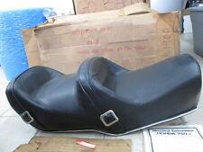 NOS Endura Westerner Black Vinyl Seat Honda 1979 1980 CB750 K CB750K 2313