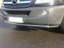 Merc Sprinter 06+ S/S Front Spoiler And Bumper Chin Bar Accessory Exterior