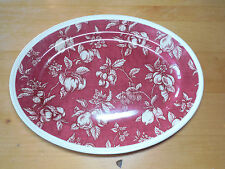 Waverly Garden Room FRUIT TOILE 14 1/2 Oval Platter