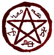 Framed Print - Devils Trap Sigil (Picture Poster Supernatural Satanic Demon Art)