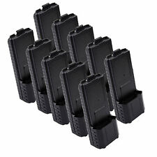 10X BAOFENG AAX6 Extended Battery Case/Shell for Radio BF-UV5R TONGFA TYT TH-F8
