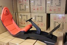 F1 Car style seatting simulator console. Play seat, Race, Xbox Playstation Red