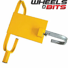 "NEW WHEELS N BITS Car Caravan Van Trailer 13"" to 16"" High Security Wheel Clamp"