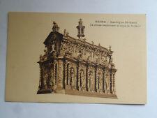 CPSM Reims Basilique St Remi la Châsse renfermant le corps de St Remi