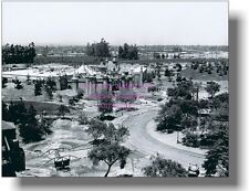 Disneyland 1954/55 Construction Hub Sleeping Beauty Castle Frontierland Entrance