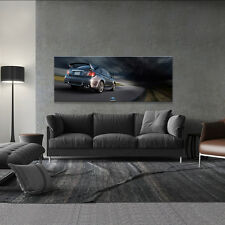 SUBARU IMPREZA WRX STI REAR EXTRA-LARGE AUTOMOTIVE HD POSTER ART 24x62in