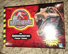 New in packaging Jurassic Park 3 Spinosaurus Chase Game Hasbro Sealed