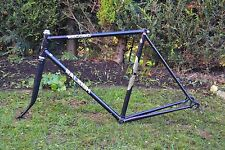 Vintage 1978 Raleigh Record Racer Road Bike Steel Frame & Forks Black 56cm 22""