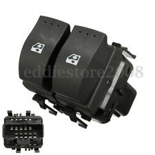 Car Electric Window Control Double Switch Button 10Pin For Renault Clio II 98-04