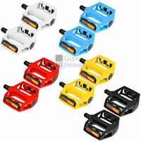 CYCLING MOUNTAIN MTB / BMX BIKE BICYCLE BEARING ALLOY FLAT-PLATFORM PEDALS 9/16""