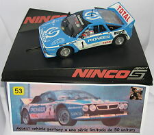 NINCO LANCIA 037 XII  MEMORIAL XMD 2014  OFF.DRIVERS  55 UNITS  LTED.ED.MB