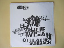 Otto Von Schirach - El Golpe Avisa -  Guaranteed Original, New OLD Stock