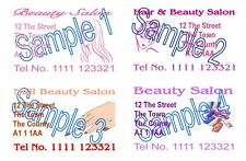 Hairdressing Nails Beauty Mobile Business Cards Printing '50 Cards'