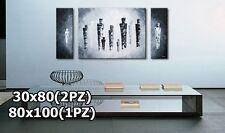 Quadro intelaiato multi formato dipinti a mano su tela arte moderna astratta