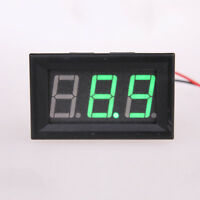 1pcs LED Panel Volt Meter 9V 12V 24V 36V 48V 100V Doesn't Require Power Small G