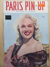 Paris Pin-Up Nr 28, erotische Vorlagen für Künstler, Fkk und Pin Up,