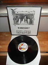 "Warfare? Rasta & Peace Corporation ""Ai Confini Della Realta'"" LP NUCLEAR SUN1994"