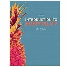 Introduction to Hospitality (6th Edition), Walker, John R., Good Book