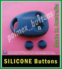 fits Holden Jackaroo Rodeo remote KEY - repair Silicone Buttons (1 set)