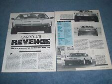 "1983 de Tomaso Pantera Turbo Charged 340 Chrysler Powered ""Shelby's Revenge"""