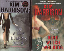 Complete Set Series - Lot of 13 Rachel Morgan the Hollows Books by Kim Harrison