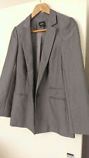 BNWOT OASIS tailored suit jacket longer line size 8, brand new