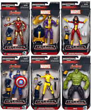 Marvel Legends - AVENGERS WAVE 2 THANOS BAF SET ~ Hulk, Cap, Iron Man+++