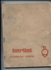 BERLIET :  documentaire technique moteur Perkins V8-510   1953