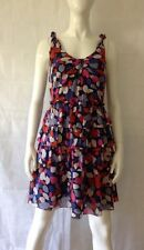 MARC BY MARC JACOBS CLASSIC PRINT SILK DRESS UK SIZE 10 / US SIZE 6