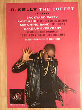 Music Poster Promo R. Kelly ~ The Buffet - DS Double Sided Ver. 2