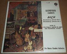 Klemperer BACH Brandenburg Concertos No.5 & 6 - Vox PL 6220 SEALED