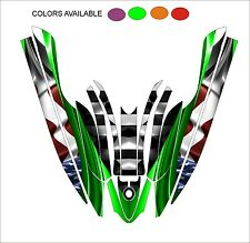 KAWASAKI 800 SXR jet ski STAND UP wrap graphics pwc up jetski decal kit a4