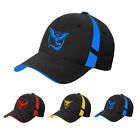Pokemon Go Baseball Hat Team Mystic InstInct Valor Blue Yellow Red Fashion Cap
