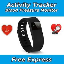 HEART RATE ACTIVITY TRACKER WRISTBAND BLOOD PRESSURE MONITOR WATCH FITBIT STYLE
