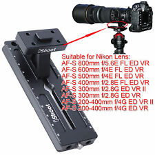 Tripod Mount Ring Foot Quick Release Plate for Nikon AF-S 600mm f/4E FL ED VR