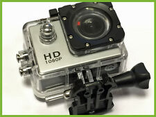 Pro HD Waterproof Sports Action Cam Camera 1080P 12MP LCD Display Wide Angle