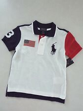 Ralph Lauren Polo Boy's Big Pony Short Sleeve Polo Shirt size 6 New