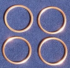 Kawasaki ZG1400 Concours ZX-14R ZX14R ZX14 R EXHAUST COPPER GASKETS (set of 4)