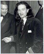 Photo Alan Davidson - Bono U2 - Awards 1988 - Tirage argentique d'époque -