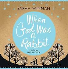When God Was a Rabbit by Sarah Winman (CD-Audio, 2011)  3 x CD