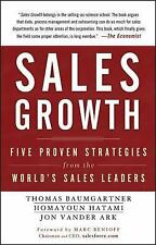 Sales Growth: Five Proven Strategies from the World's Sales Leaders-ExLibrary