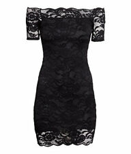H&M Off-the-shoulder Lace Dress Size 4