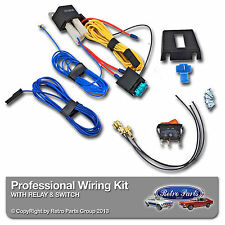 BMW 3 Series E30 Driving/Fog Spot Lamp Lights Wiring Kit 12v