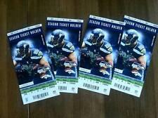 Denver Broncos @ Seattle Seahawks 2013 GEM ticket stub Manning Wilson Super Bowl