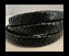 100% Real Oval Leather Cord - 9x6mm String Lace Thong Jewellery - HQ
